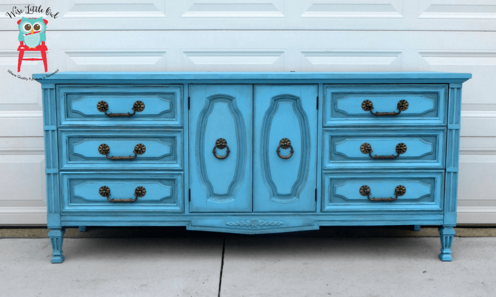 Dixie Belle Blue Dresser