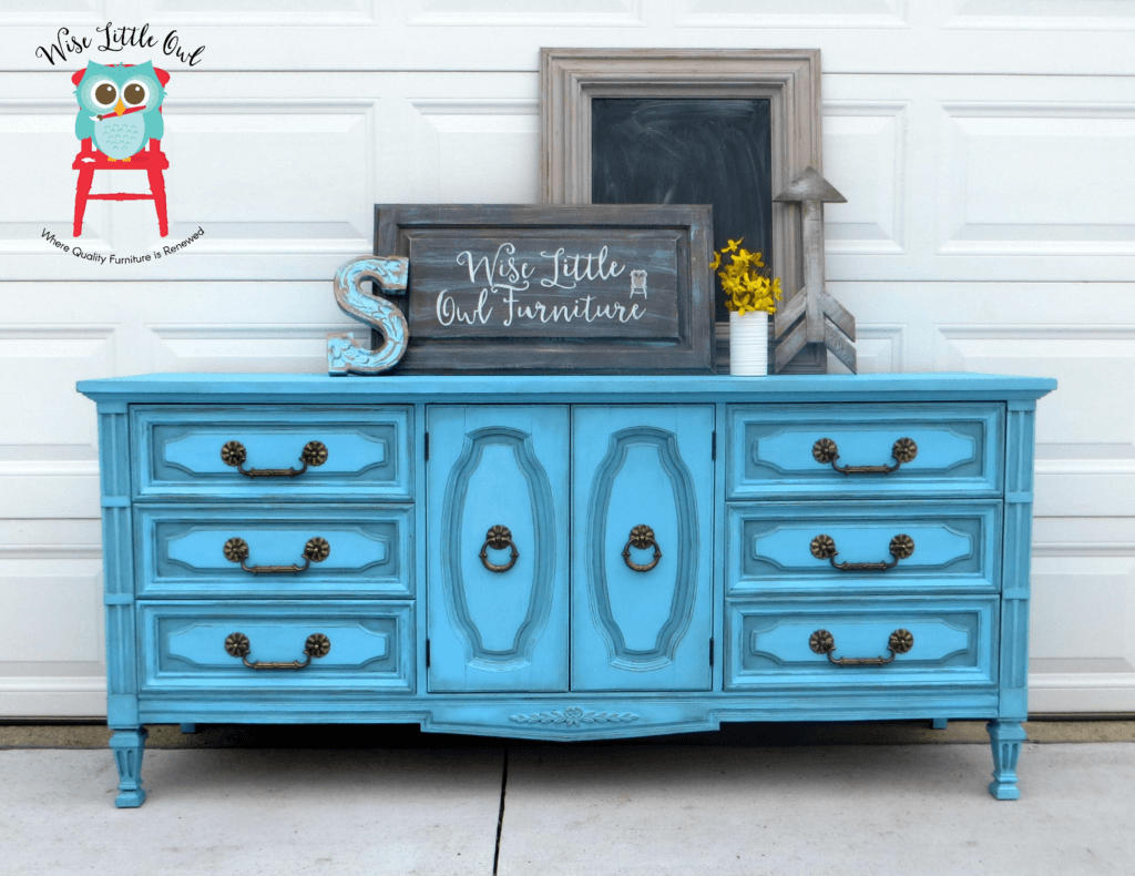 Dixie Blue dresser shading technique