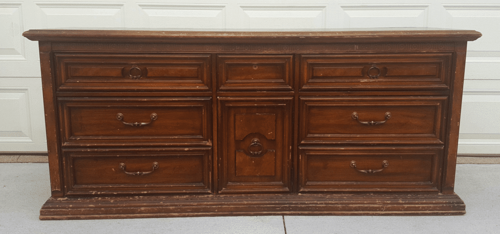 Dresser to Buffet Transformation Before