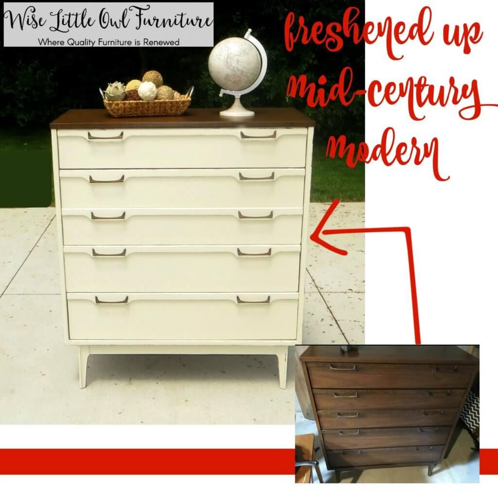 MCM Dresser before & after