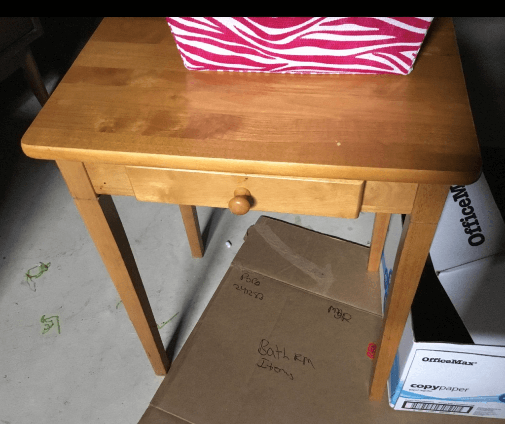 MCM end tables before