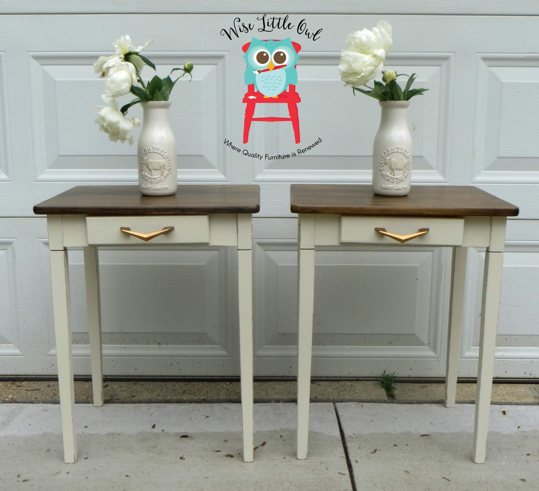 MCM end tables