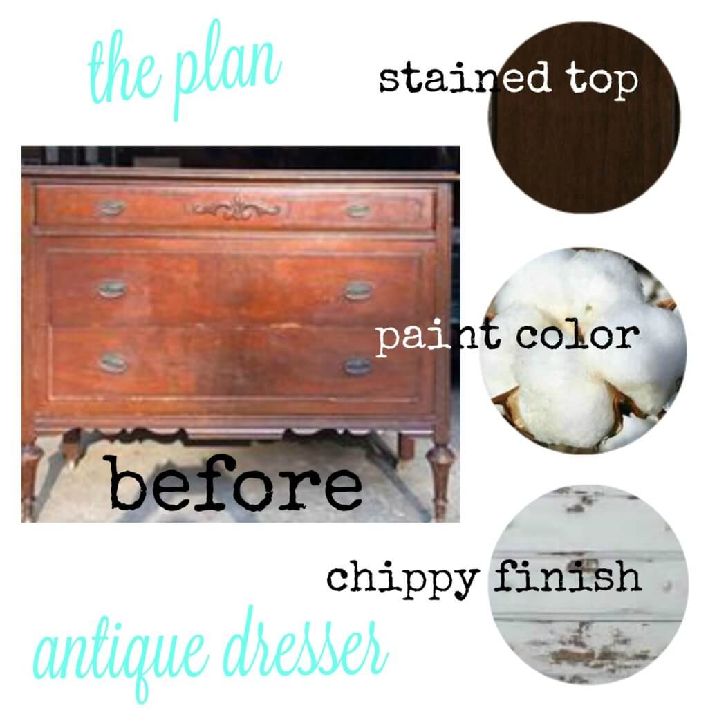 antique dresser plan