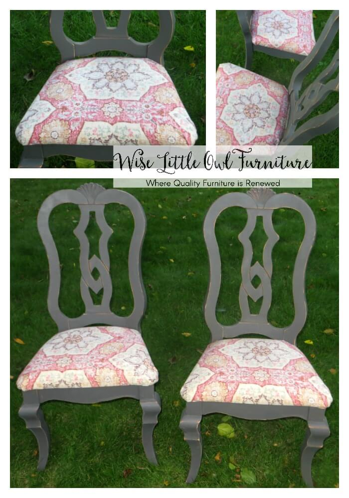 dining chair collage