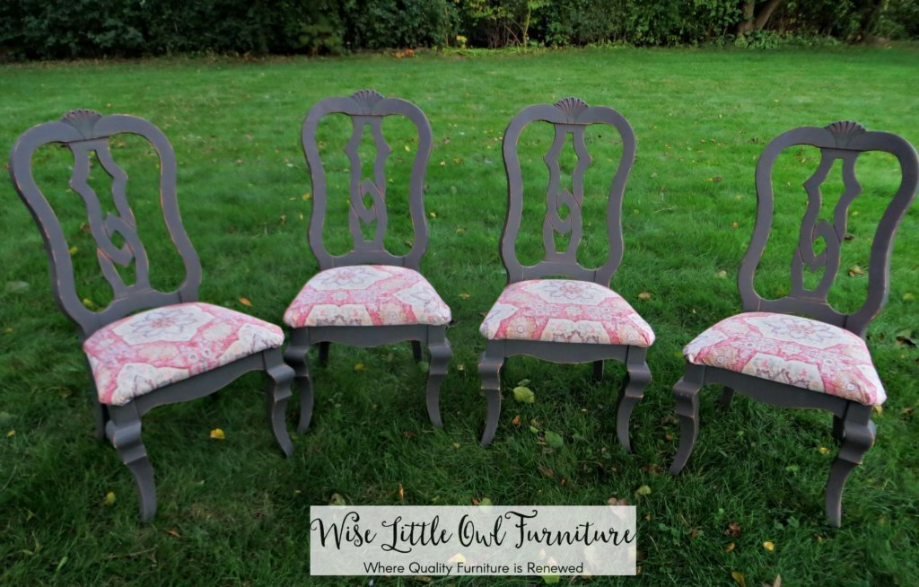 dining chairs after