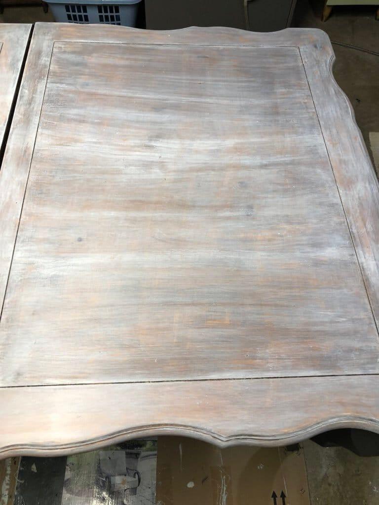 progress on table choppy blending