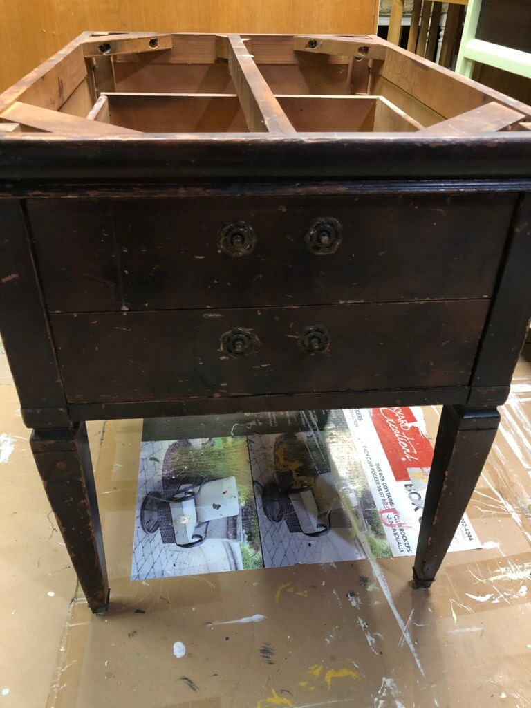 end table before