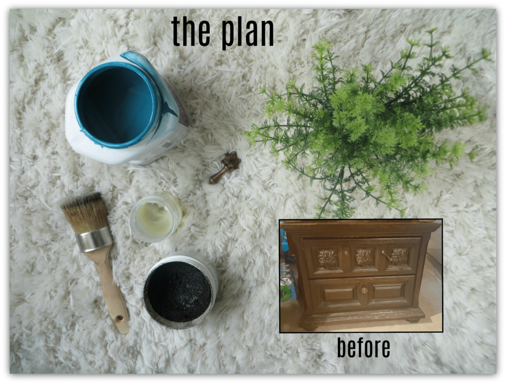 teal night stands plan