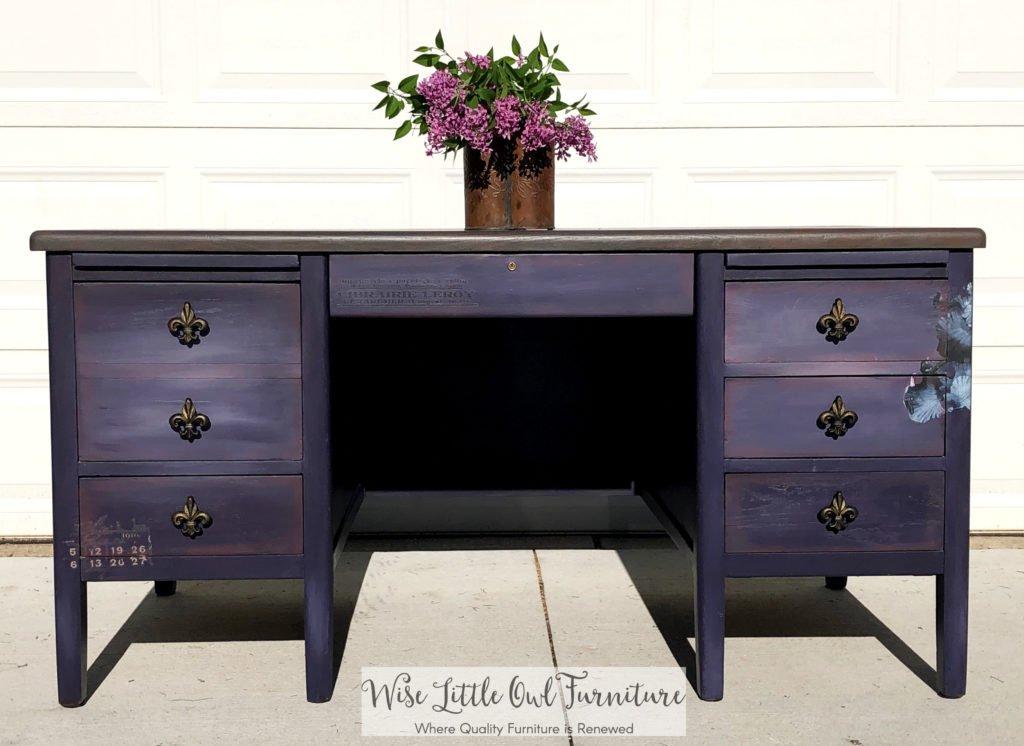 furniture transfer desk front