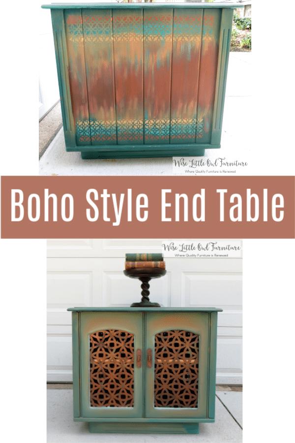 boho end table pinterest