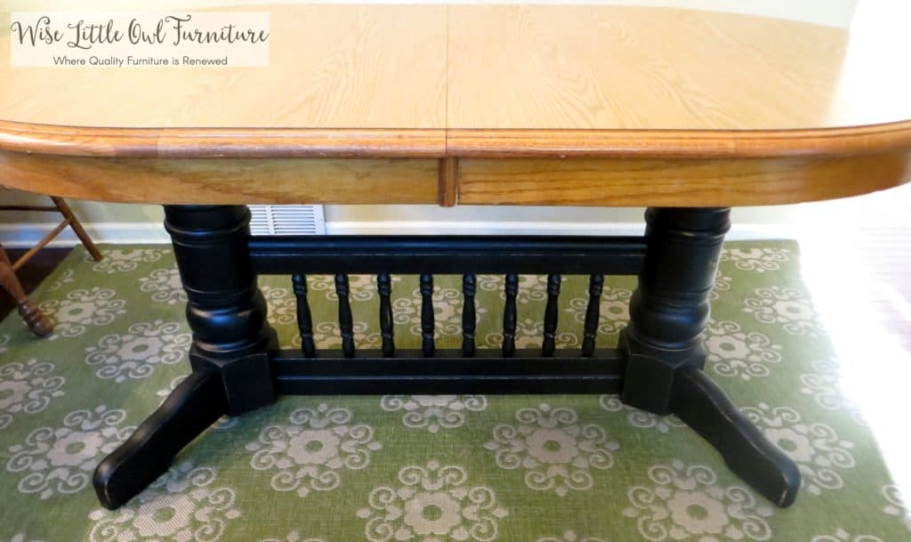 Farmhouse table with top