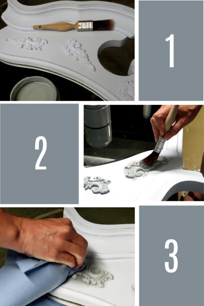 furniture applique process 1