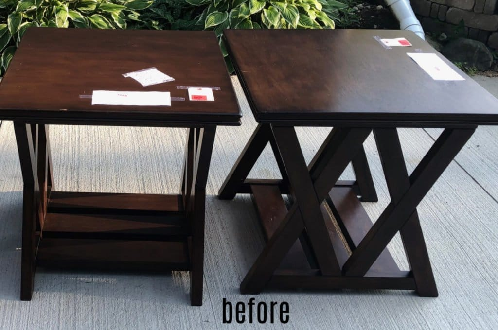 end tables before