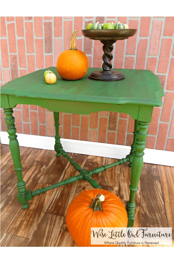 green table pinterest