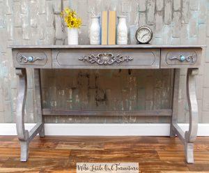 elegant desk after