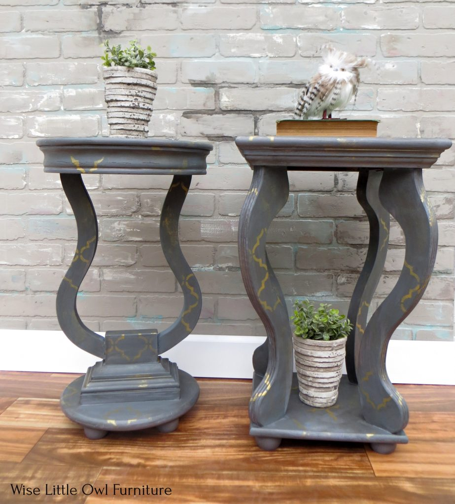 Pair of Accent Tables wide view