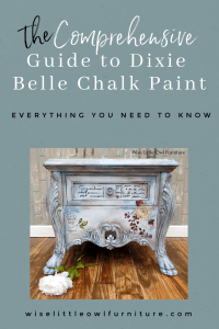 guide to dixie belle chalk paint