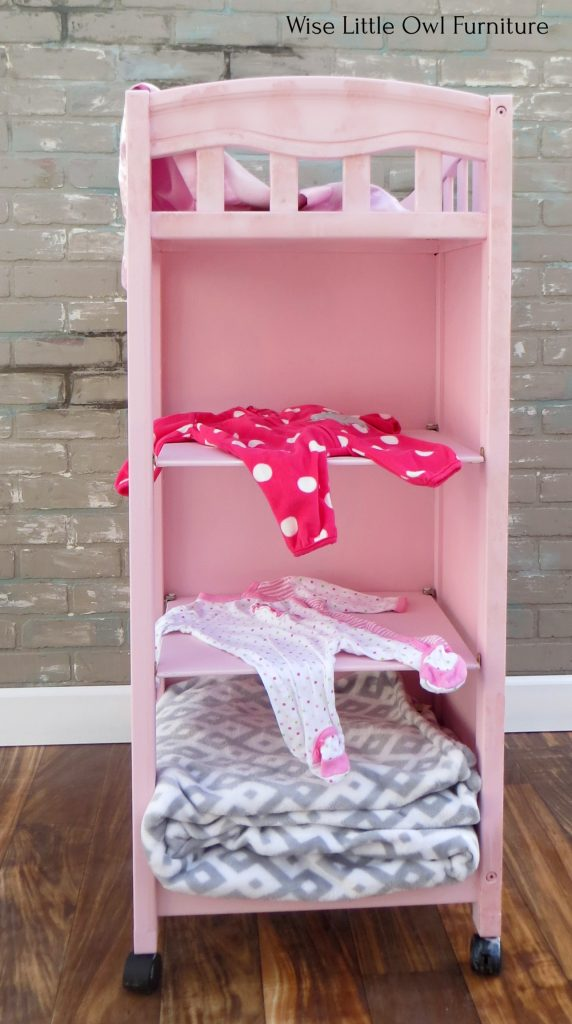 changing table back