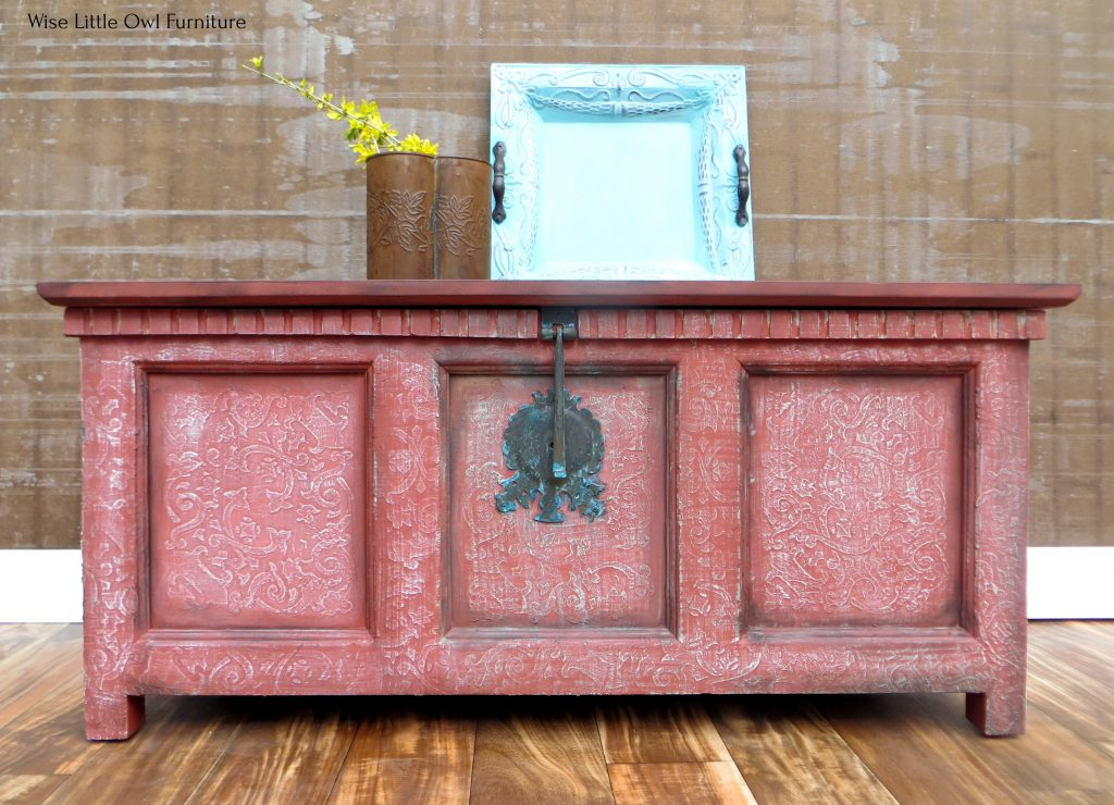 sw boho coffee table front