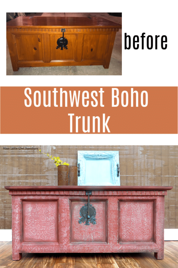 sw boho table before after