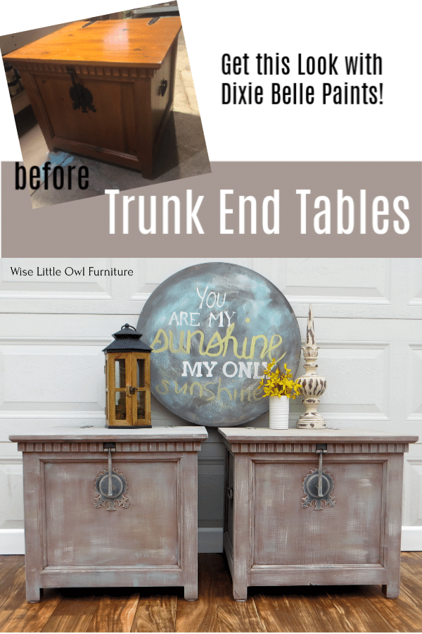 trunk end tables pinterest