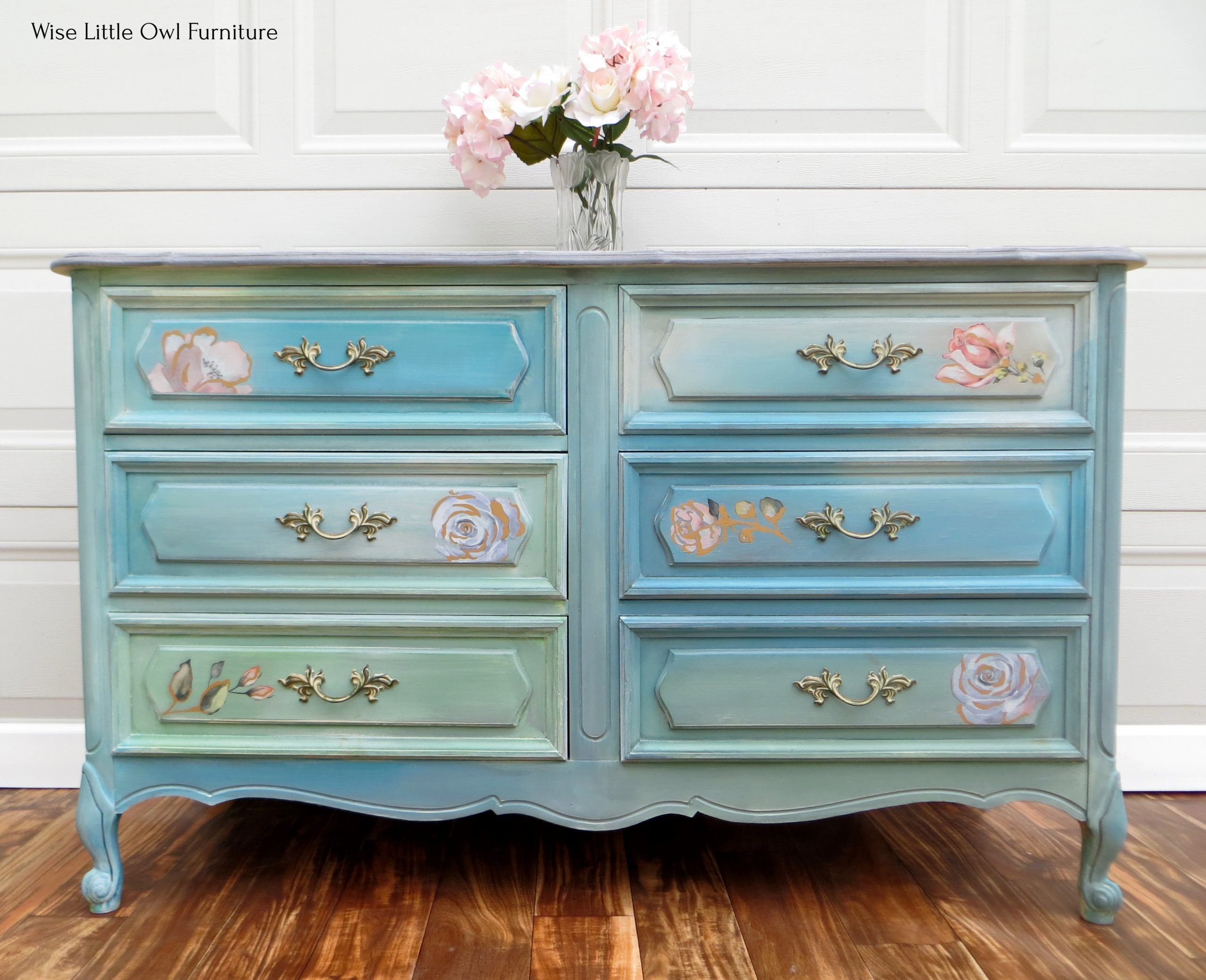 French Provincial Bedroom Furniture Makeover Wise Little Owl Furniture