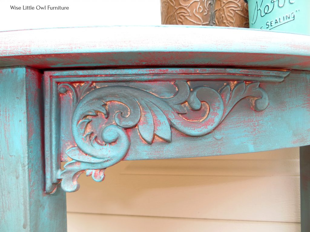 plain table WoodUBend detail