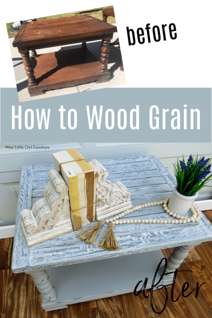 how to wood grain