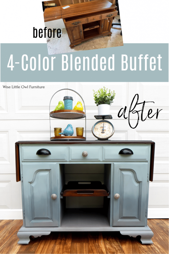 Blended Buffet pin