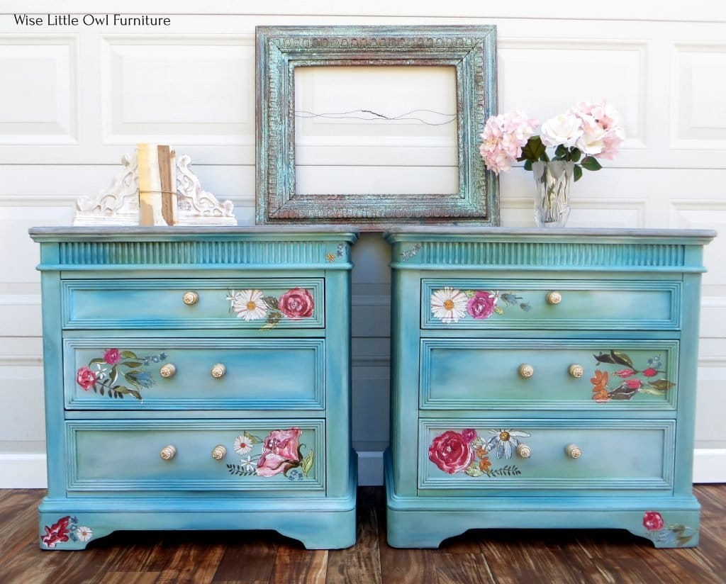 blue-green night stands front