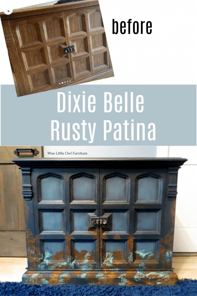 Rusty Patina Pin