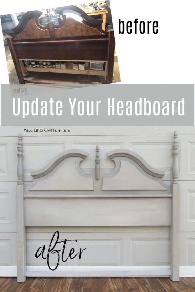 update your headboard pin