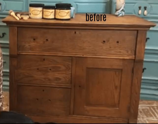 washstand before