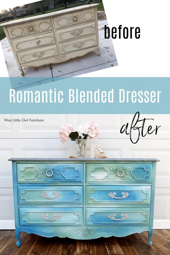romantic blended dresser pin