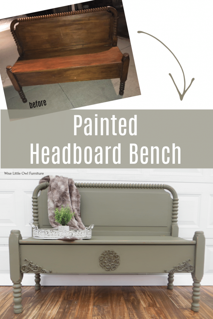 headboard bench pin