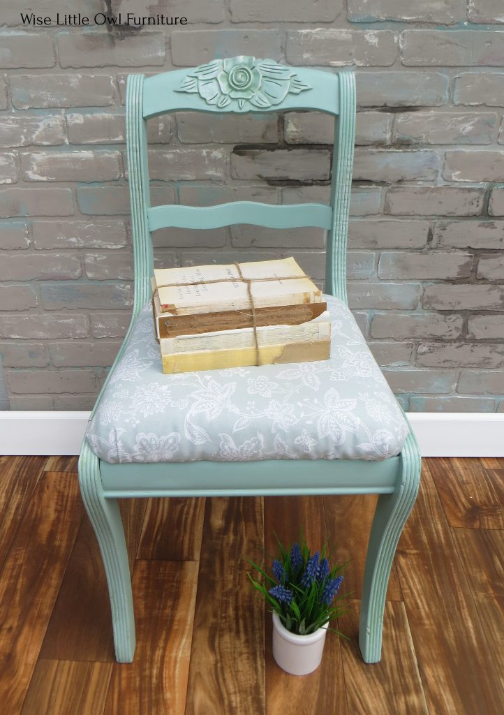 shabby chic chair front