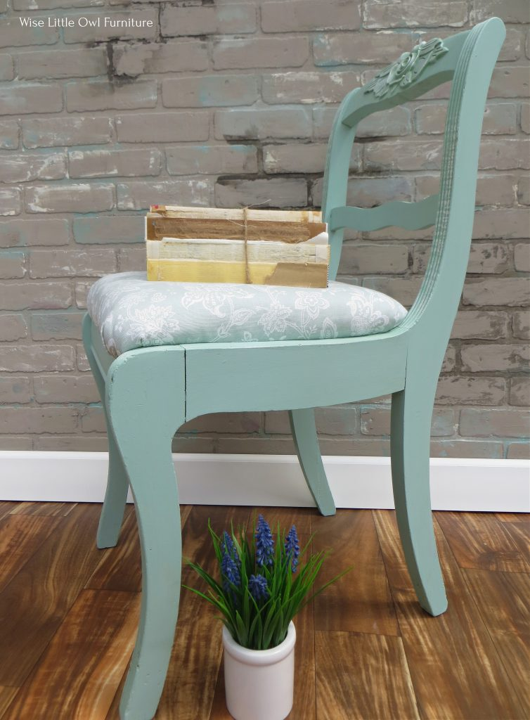 shabby chic chair side