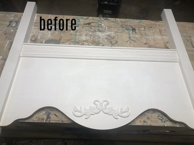 footboard before