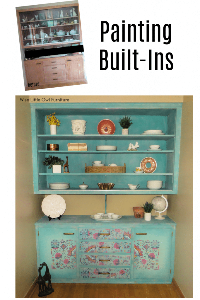 latin floral built in Pin
