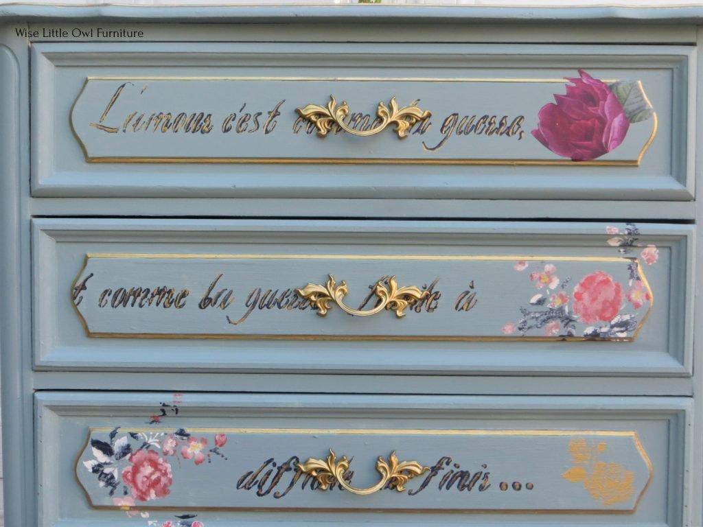 french design dresser close view