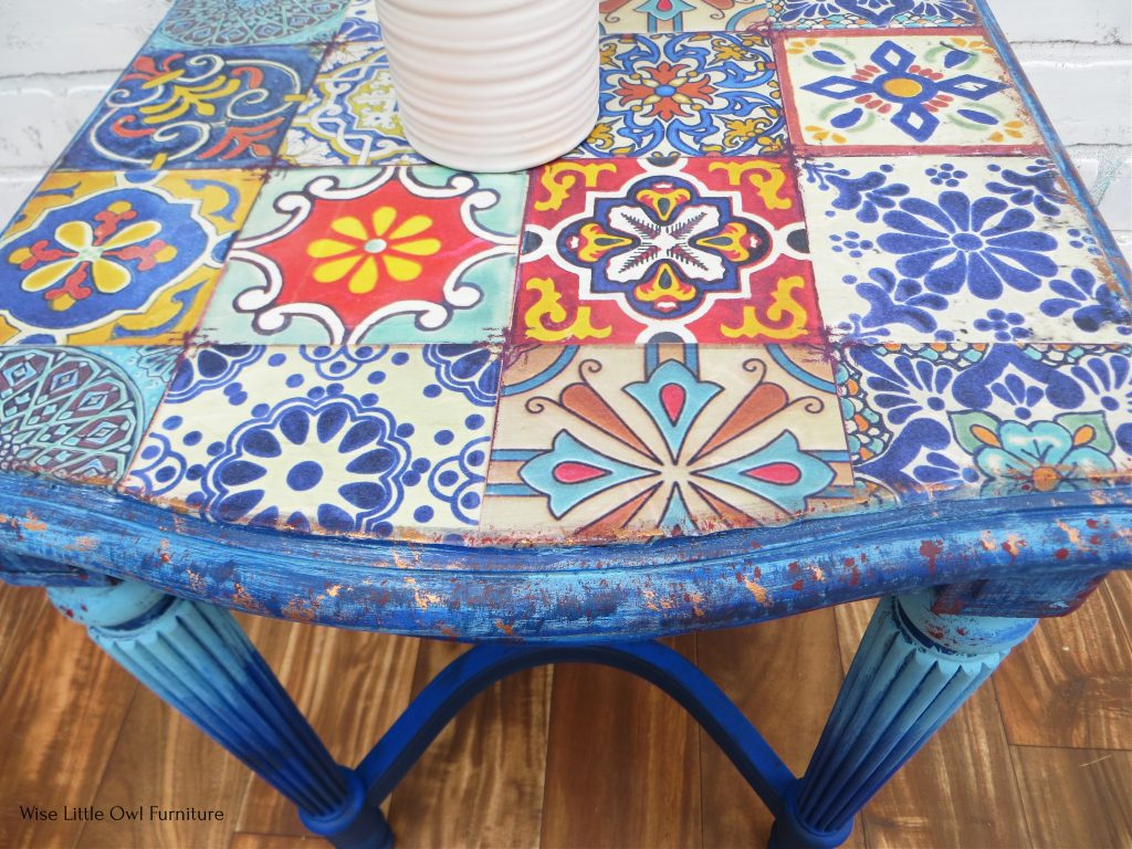 moroccan tile table top