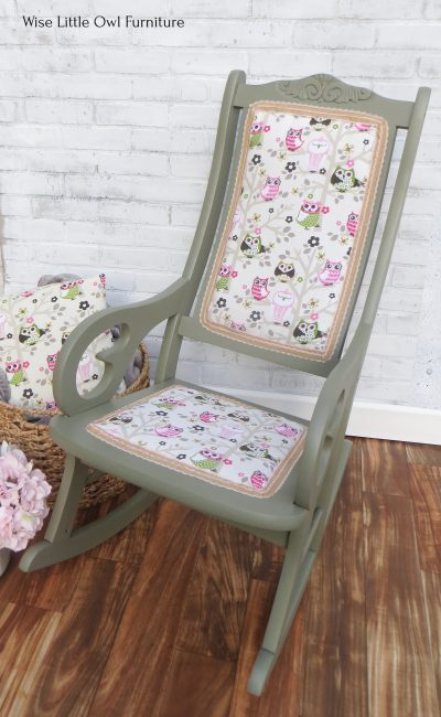 Owl rocking chair